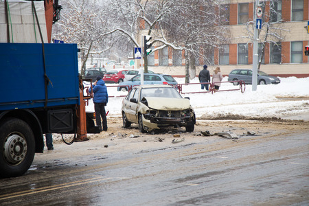 What to do in an accident during winter