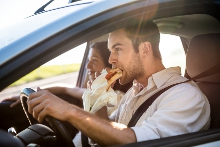 Eating and Driving